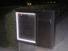 Sonderanfertigung Briefkasten aus Edelstahl, mit Lichtanlage, Illumination, Berlin