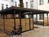 Hochwertige Edelstahl, Aluminium Konstruktion, Garage für Fahrräder in Berlin